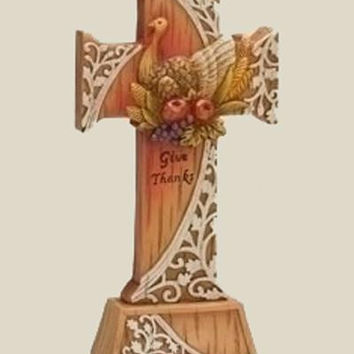 Thanksgiving Decoration - Cross