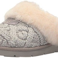 UGG Women's Cozy Cable Ankle Bootie  UGG slippers women