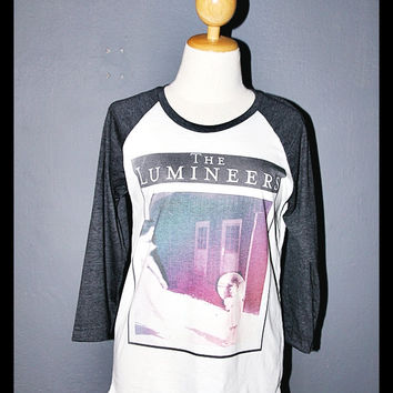 The Lumineers Shirt T-Shirt 3/4 Sleeved Baseball Tee Shirt Long Sleeve Shirt Women Shirts Men Unisex Size XS S