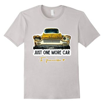 Mens Vintage Classic Old Race Muscle Car Collector Hot Rod Shirt
