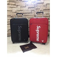 LV SUPREME EPI LEATHER LUGGAGE CARRIER
