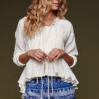 House of Harlow Tie Front Embroidered Swing Top at PacSun.com