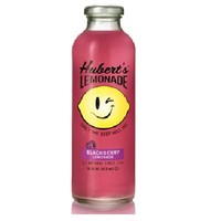 Hubert's Blackberry Lemonade All Natural (Old-fashioned California lemonade Meets Blackberry Tartness), TWELVE Bottles, Each Bottle is 16 oz (Pack of 12)