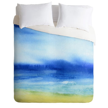 Jacqueline Maldonado Sea Church Duvet Cover
