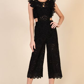 My Youth Is Yours Jumpsuit-Black