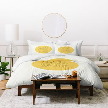 Allyson Johnson Morning Sunshine Duvet Cover
