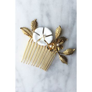 Regal Garden Hair Comb - Christine Elizabeth Jewelry