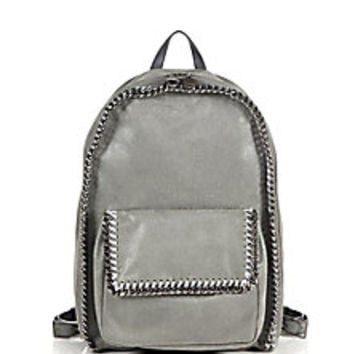 Stella McCartney - Falabella Faux Leather Backpack - Saks Fifth Avenue Mobile