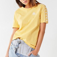 Kappa X UO Charlton Taped Tee   Urban Outfitters Canada
