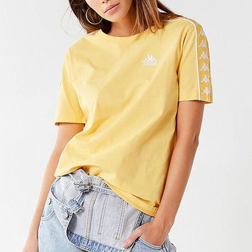 Kappa X UO Charlton Taped Tee | Urban Outfitters Canada