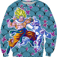 Goku Vs Frieza Sweatshirt