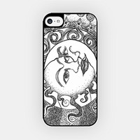 for iPhone 6 - High Quality TPU Plastic Case - Moon & Sun - Hipster