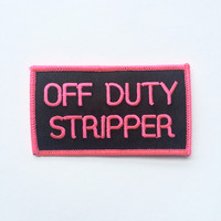 Off Duty Patch