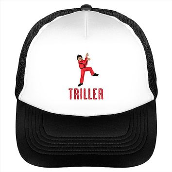 Triller Red Suit Mj Michael Jackson Dance Video Hat