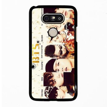 BANGTAN BOYS BTS LG G5 Case Cover