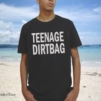 Teenage Dirtbag t shirt One Direction crewneck Sweater crewneck Sweater Wheatus Lyrics,1D One Direction women men from CelebriTee