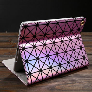 Laser Leather Case for iPad