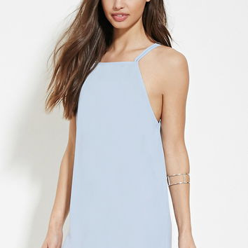Square-Neck Cami Mini Dress