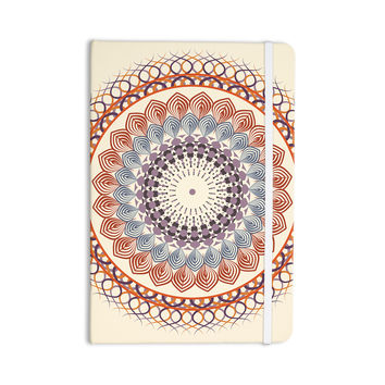 "Famenxt ""Vintage Mandala"" Yellow Multicolor Everything Notebook"