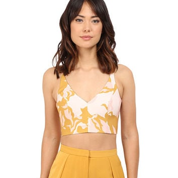 KEEPSAKE THE LABEL No Secrets Crop Top