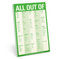 Knock Knock All Out Of Pad (Green) - Official Shop