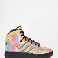 adidas Originals Instinct Multi Coloured High Top Trainers