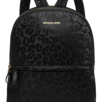 MICHAEL Michael Kors Animal Jacquard Backpack, a Macy's Exclusive Style | macys.com