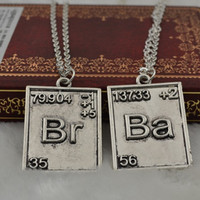 Breaking Bad Couple's Necklace Set