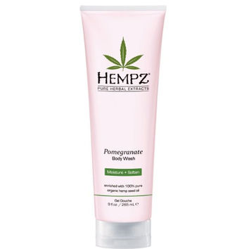Hempz Pomegranate Body Wash, 9 Ounce
