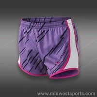 Nike Tennis Short,Nike Girls GFX Tempo Short 481513-505, Midwest Sports