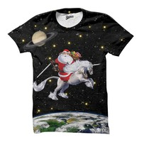 Santa Unicorn T-Shirt