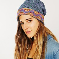 Unique Batik Floppy Kufi Hat - Urban Outfitters