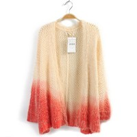 Knit Cardigan For Women Red
