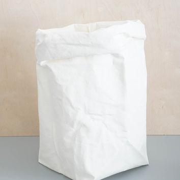 White Paper Storage Bag - Large