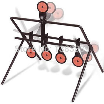 Airgun 5-Plate Reset Target Not For Airsoft Paintball Archery Shooting Improving Hunting Shooting Tactical Skill Outdoor&Indoor