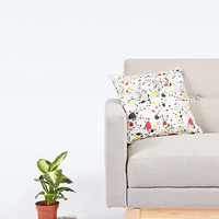 Sofia Mitte Sofa in Stone - Urban Outfitters