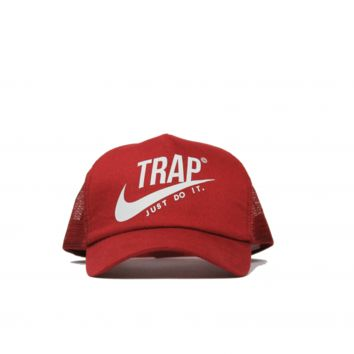 "Black ""Trap"" Hat"