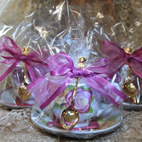 Assorted Roses Teacup (Tea Cup) Favors Set of 3