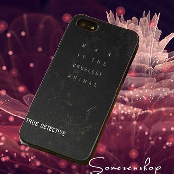 TV movie, Series ,True Detective, Quotes /CellPhone,Cover,Case,iPhone Case,Samsung Galaxy Case,iPad Case,Accessories,Rubber Case/2-4-10