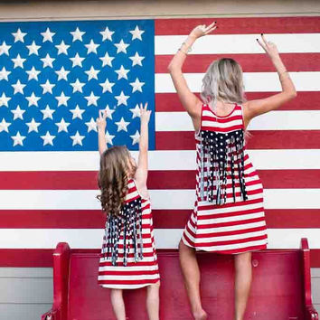 The Patriotic™ Mom and daughter dress