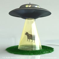 Alien Abduction Lamp | Kid Crave