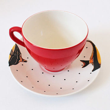 Fancy Fish Teacup