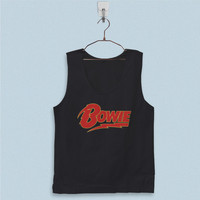 Men's Basic Tank Top - David Bowie Logo