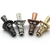 Cowboy Hat Style Drip Tip E Cig Wide Bore Drip Tip For Vaporizer 510 Thread Electronic Cigarette Cartomizer