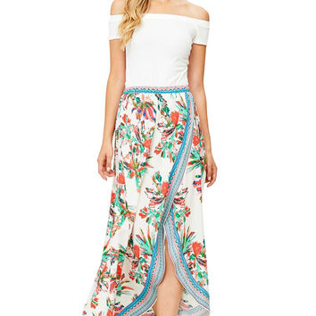 Posey Split Maxi Skirt