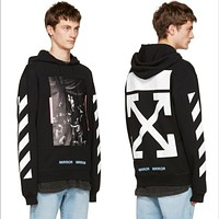 OFF-White Men Fashion Top Sweater Pullover Hoodie