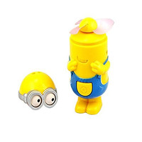 1 X Fashion USB Handheld Portable Mini Fan with Minions [No noise]