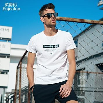 British Baron Summer Short Sleeve T-shirt Trend in 2019 Korean Version Individual Letter Printed Digital T-shirt T-shirt with Round Neck