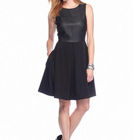 Taylor Scuba Fit and Flare Dress