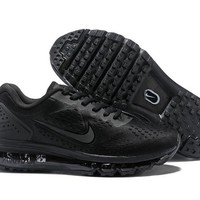 HCXX N352 Nike Air Max 2019 Full Palm Cushion Breathable Casual Running Shoes Black